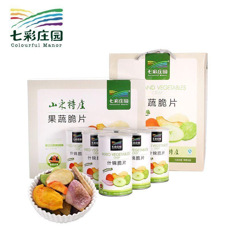 寿光特产果蔬脆礼盒 七彩庄园