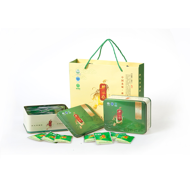 诸城绿茶珍品礼盒(102g*2盒)