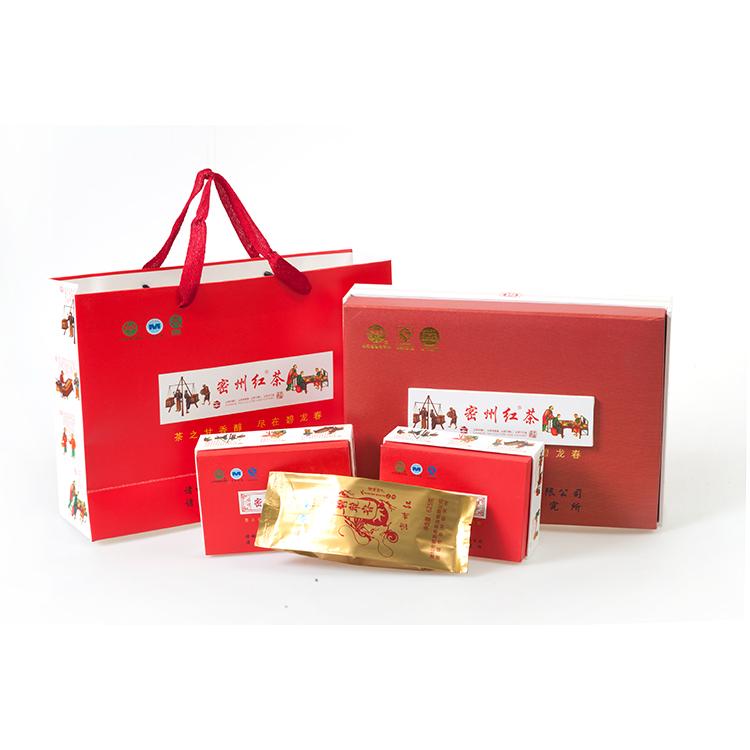 诸城特产红茶密州红 礼盒(62.5g*2筒/盒)